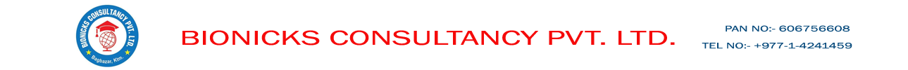 Bionicks Consultancy Pvt. Ltd. Logo