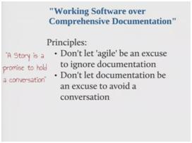 WorkingSoftwareComprehensiveDocumentation
